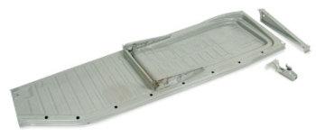 Beetle Floor Pan, Left 58-70, Top Quality Wolfsburg West.   111-701-061M