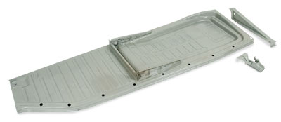 Beetle Floor Pan, Left 58-70, Top Quality Wolfsburg West.   111-701-061M