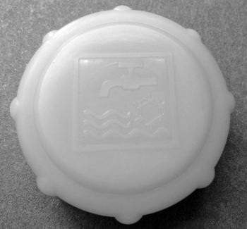 Cap for Water Header Tank 83-92.   025-121-482