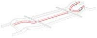 Heater Tube Insulation Wrap Kit 55-67.   211-255-900
