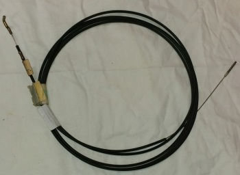 Heater cable - 1700cc Left Side, LHD 8/71-7/72 (4100 mm) 211-711-629L