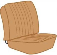 Seat Cover Set 68-74 Walkthrough, Tan.   211-881-002ETN