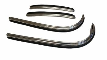 Deluxe Bumper Trim Set 68 only, 241-707-411C