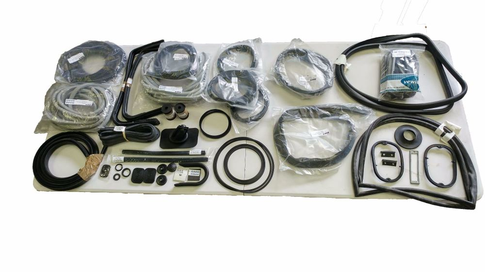 11 Window Seal Bundle Kit 55-63 (6 Pop-outs).  211-898-002