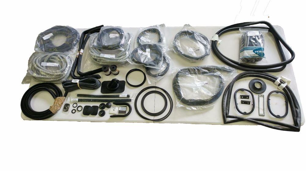 13 Window Seal Bundle Kit 63-67 (6 Pop-outs) 211-898-006
