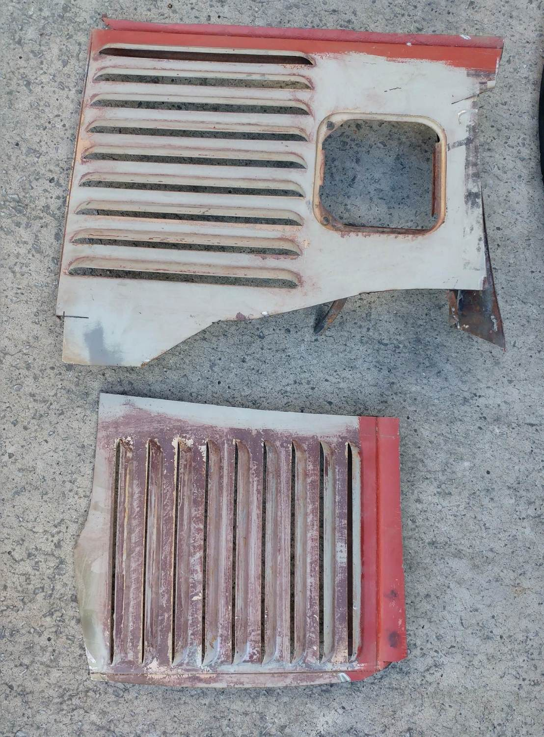 Vent Sections (used) 63-67