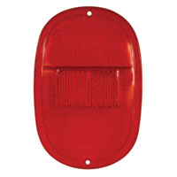 Red Rear Light Lens 62-71.   211-945-241DR