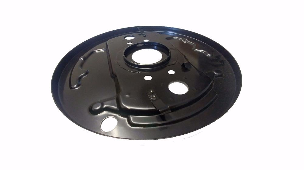 Front Brake Backing Plate 68-70, Left, Top Quality.   211-609-139C