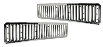 Chrome Front Grille Trims 73-79.     241-853-216