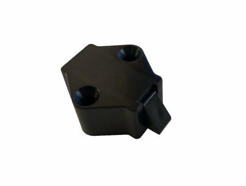 Cupboard Handle Inner Locking Part, Black.   SCHCUP1
