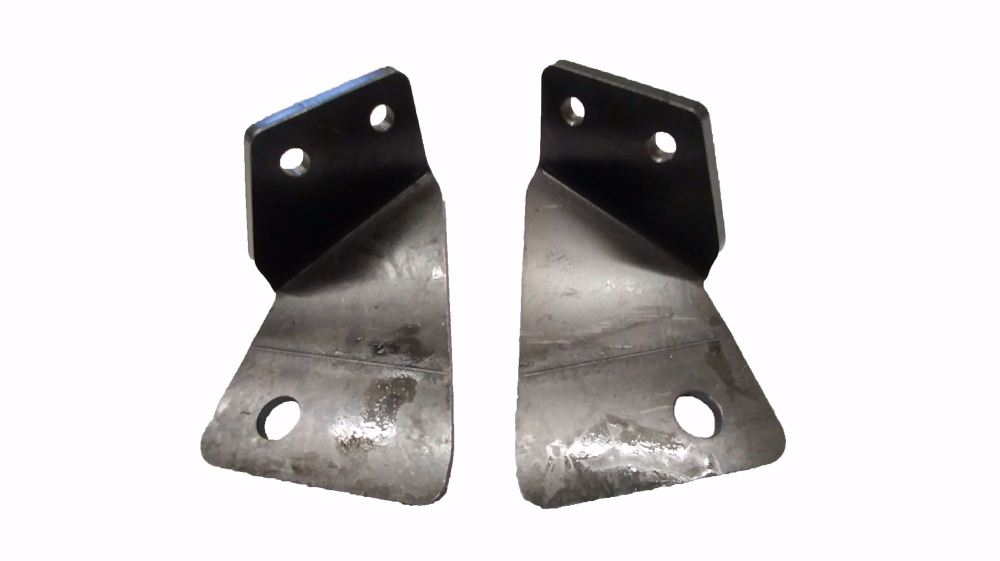 Cab Seat Belt Brackets, 68-79.  211-809-257