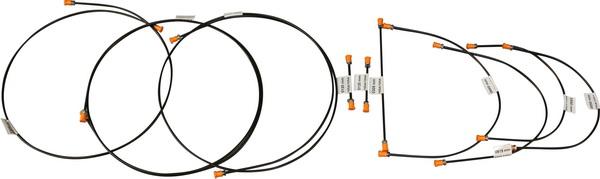 Brake Pipe Kit T25   8/85-92.   251-698-005C
