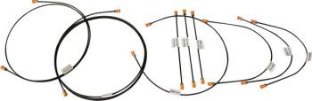 Brake Pipe Kit T25  8/87-7/92.   251-698-005D