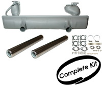 Complete Exhaust Silencer Kit 63-85 Beetle 1200cc.   111-251-051H