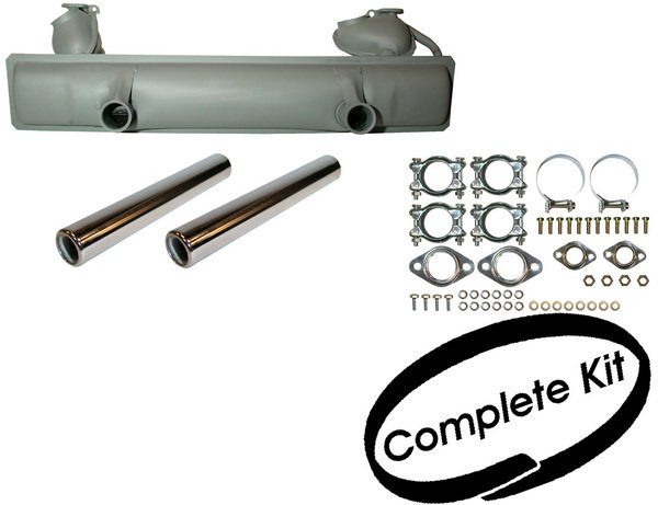 Complete Exhaust Silencer Kit 65-79 Beetle 1.3-1.6.   113-251-053AJ