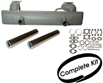 Complete Exhaust Silencer Kit 73-79,  1302/1303 Beetle 1.3 & 1.6.   113-251