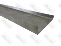 Gutter Section 1500mm Long. 50-67   211-817-537