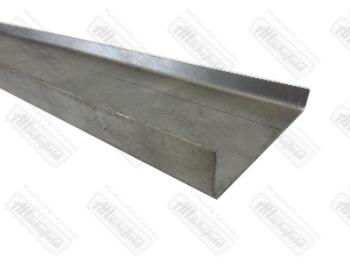 Gutter Section 1500mm Long. 50-67   211-817-537