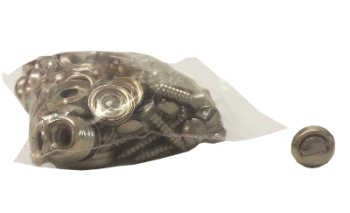 Door Panel Screws & Washers (Pack of 60), Top Quality.   211-863-615BQ