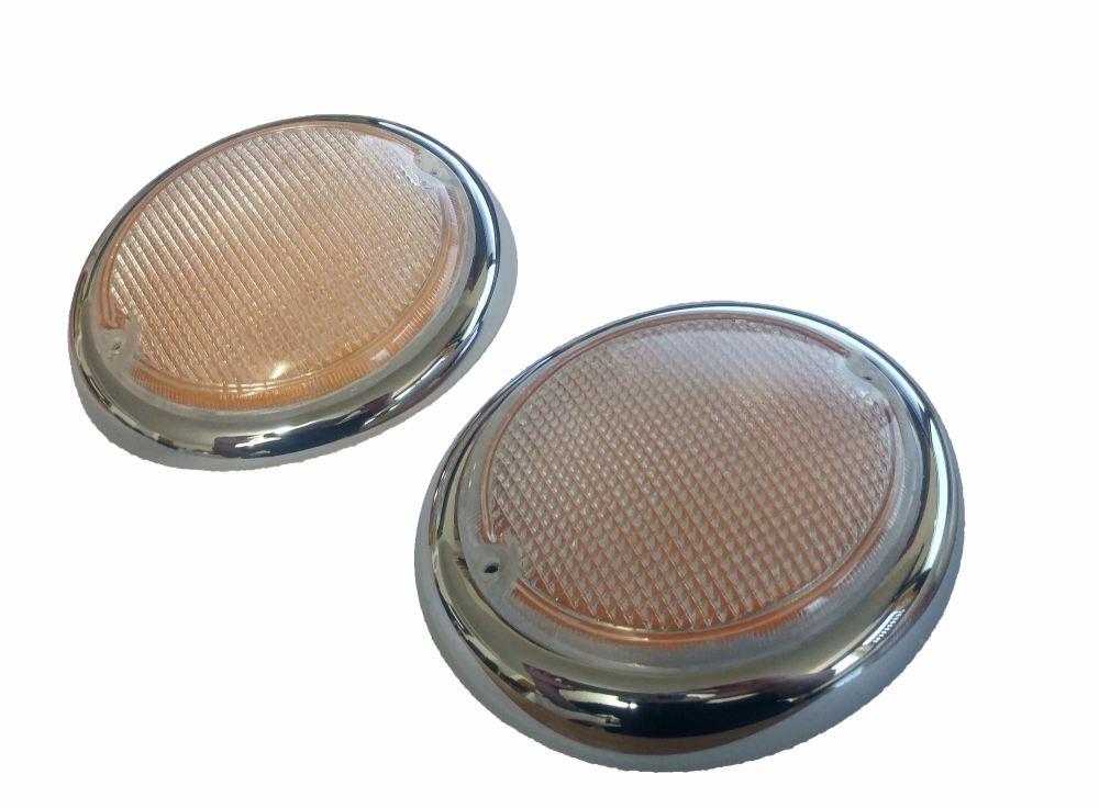 Hella Fisheye Indicator Lens (Pair) 62-67.   211-953-161BH