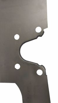 Inner Front Chassis Leg, Left 55-67. 211-703-305A