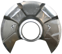Front Brake Disc Backing Plate, Fixed Caliper 80-86.  291-407-343