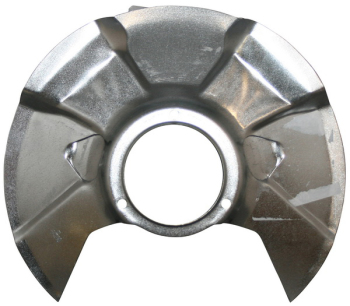 Front Brake Disc Backing Plate, Fixed Caliper 80-86.  251-407-343C