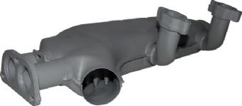Heat Exchanger Left, 80-83. 071-256-091B