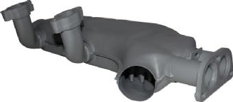 Heat Exchanger Right, 80-83. 071-256-092B