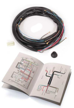 Wiring Loom, Main Loom Only 72-79.   211-971-028K