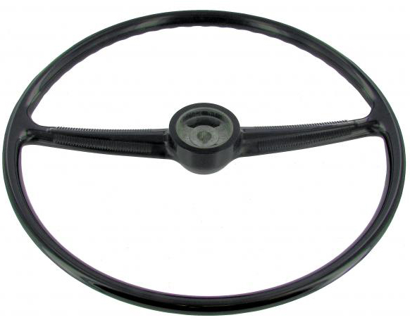 Steering Wheel, Black 55-67.    211-415-655BBQ