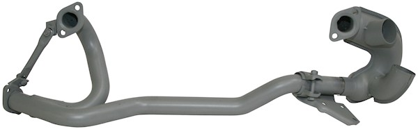 Front Exhaust Pipe with Pre Heat 1.9L Watercooled 86-92.  025-251-169N