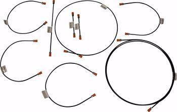 Brake Pipe Kit T25  80-7/83.   251-698-005A