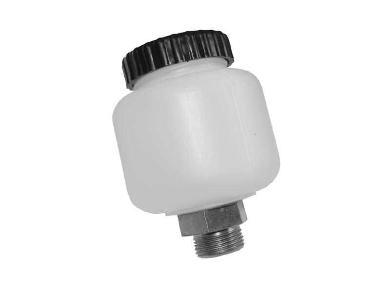 Brake Fluid Reservoir single circuit split bus ATE.   211-611-301C