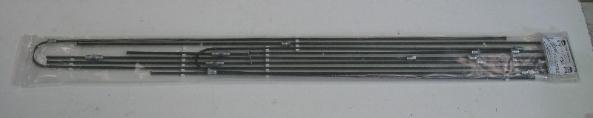 Brake Pipe Kit 66-67, Dual Circuit LHD.   211-698-005D