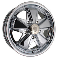 "Fooks / Fuchs Chrome Alloy Wheel 5/112 - 5.5""   AC601006C"