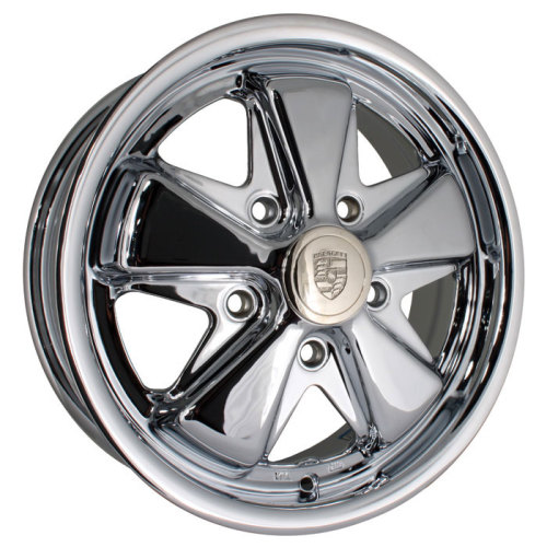 Fooks / Fuchs Chrome Alloy Wheel 5/112 - 5.5