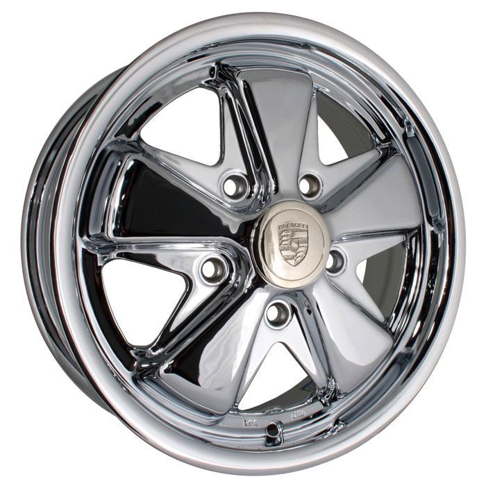 Fooks / Fuchs Chrome Alloy Wheel 5/112 - 5.5