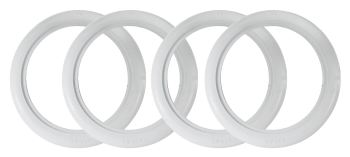 "14"" Whitewall Tyre Trims Set of 4.   AC698002"