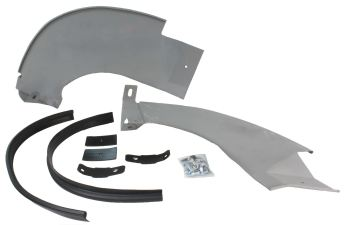 Rear Bumper Splash Panel Kit 59-67.    211-798-000