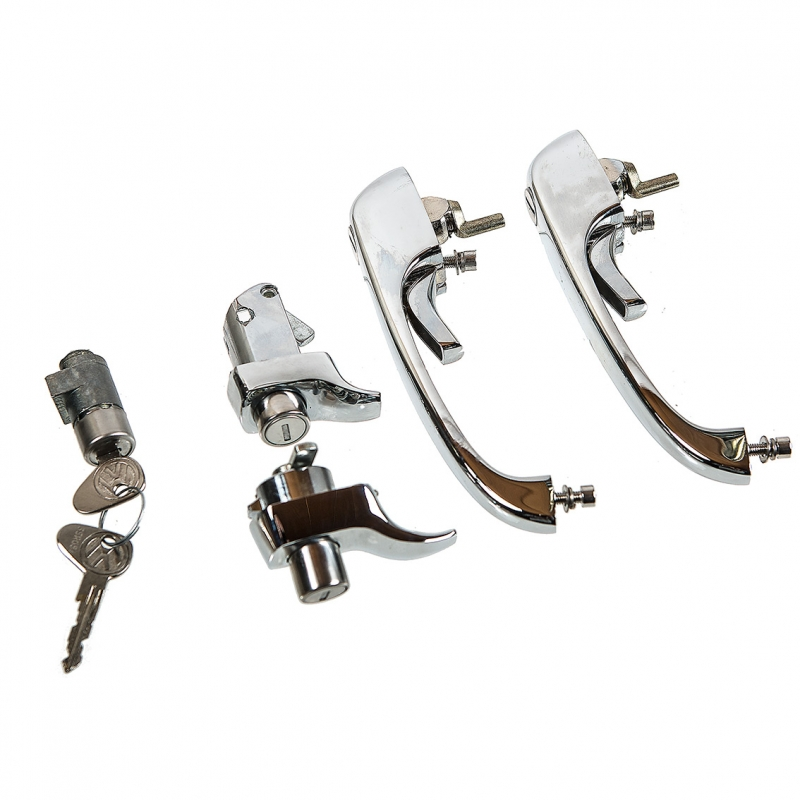 Complete Door Lock Set 74-79 LHD, NEW