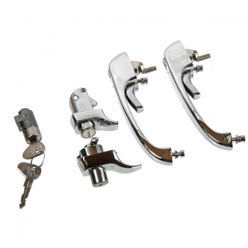 Complete Door Lock Set 74-79 RHD, NEW