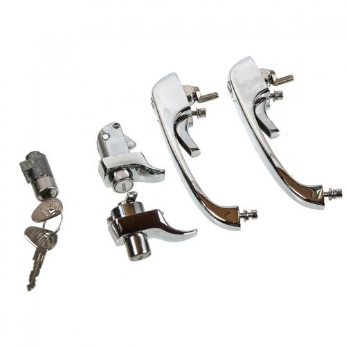 Complete Door Lock Set 74-79 RHD, NEW