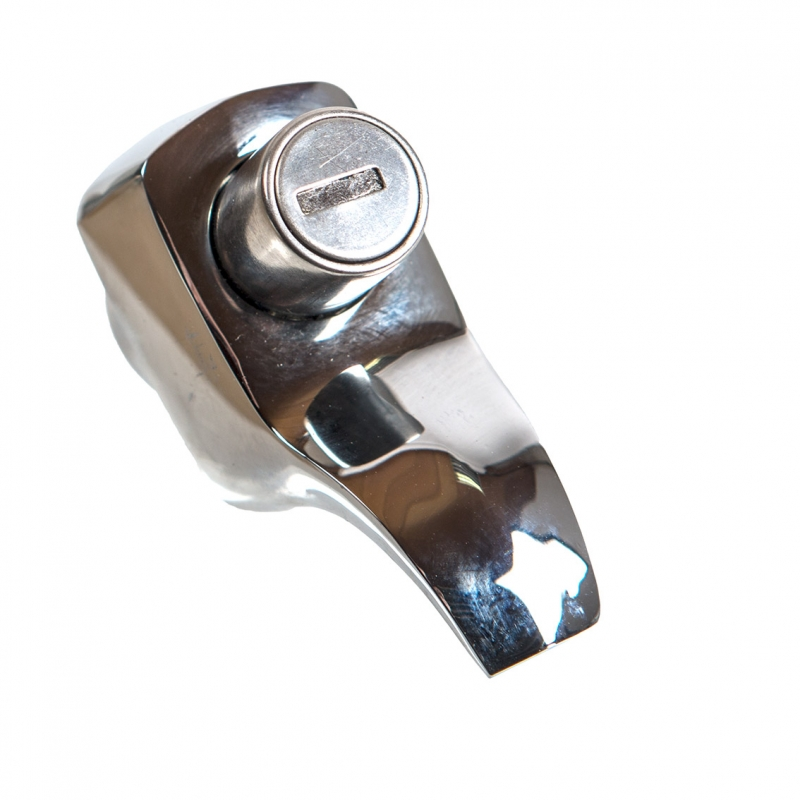 Tailgate Lock, Top Quality, Chrome 67-71.   211-829-231G