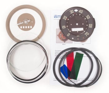Speedometer Repair Kit 58-60, 70mph.   211-957-002