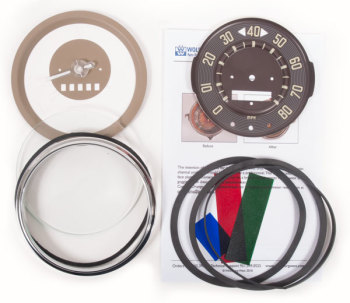 Speedometer Repair Kit 1960 only, 80mph.   211-957-003