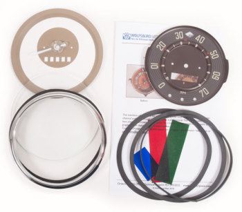 Speedometer Repair Kit 55-58, 70mph.   211-957-001