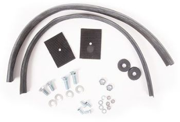 Rear Bumper Splash Pan Installation Kit 68-71.   211-798-005A