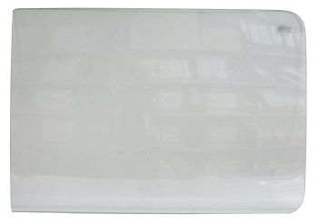 Front Cab Door Drop Glass, Left, Clear  211-845-201B