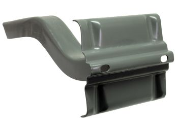 Rear Bumper Bracket - Left (Ribbed Bumper) 53-58.   211-707-335L